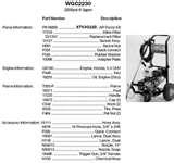 images of Devilbiss Pressure Washer Pump Parts