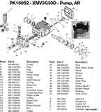 Excell Pressure Washer Pump Parts