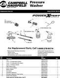 Cat Pressure Washer Pump Parts