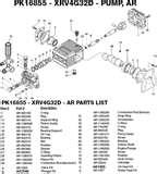 Excell Pressure Washer Pump Parts images